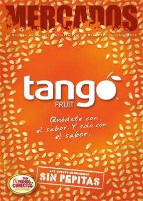 Tango, la nueva mandarina sin pepitas