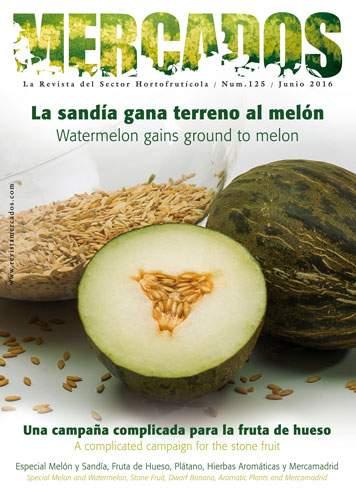La sandía gana terreno al melón