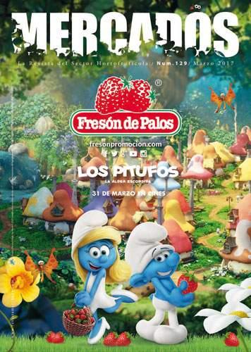 Los Pitufos se rinden al sabor de Fresón de Palos