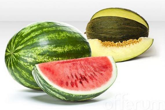melón sandía balance