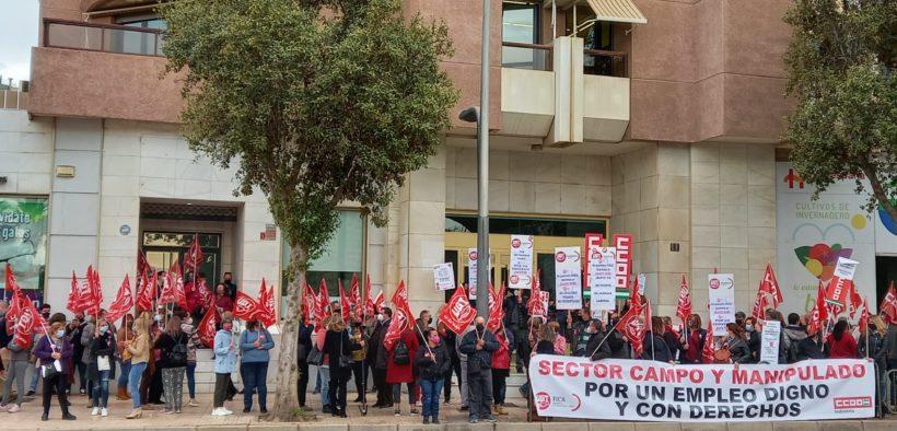manipulado huelga Almería