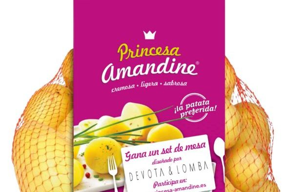 Princesa Amandine patata