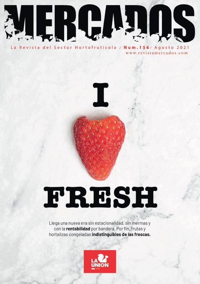 I LOVE FRESH. Frutas y Hortalizas congeladas indistinguibles de las frescas